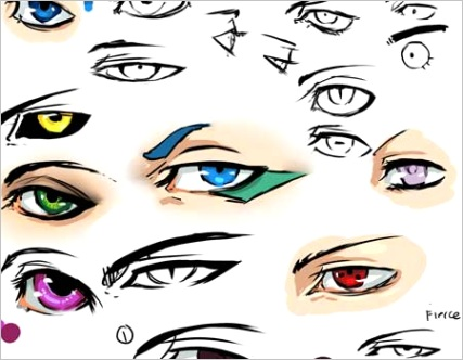 collection anime and manga eyes tutorials and more