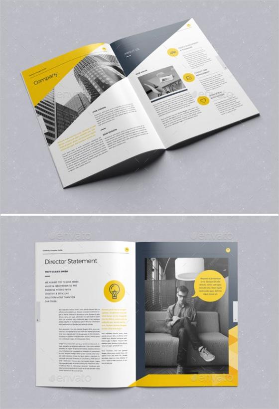 pany profile design templates