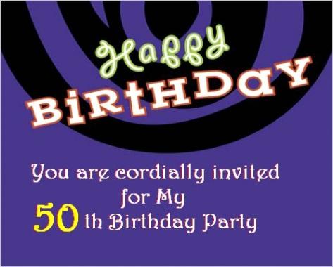 50th birthday invitationsml