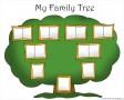Blank Family Tree Template Kids