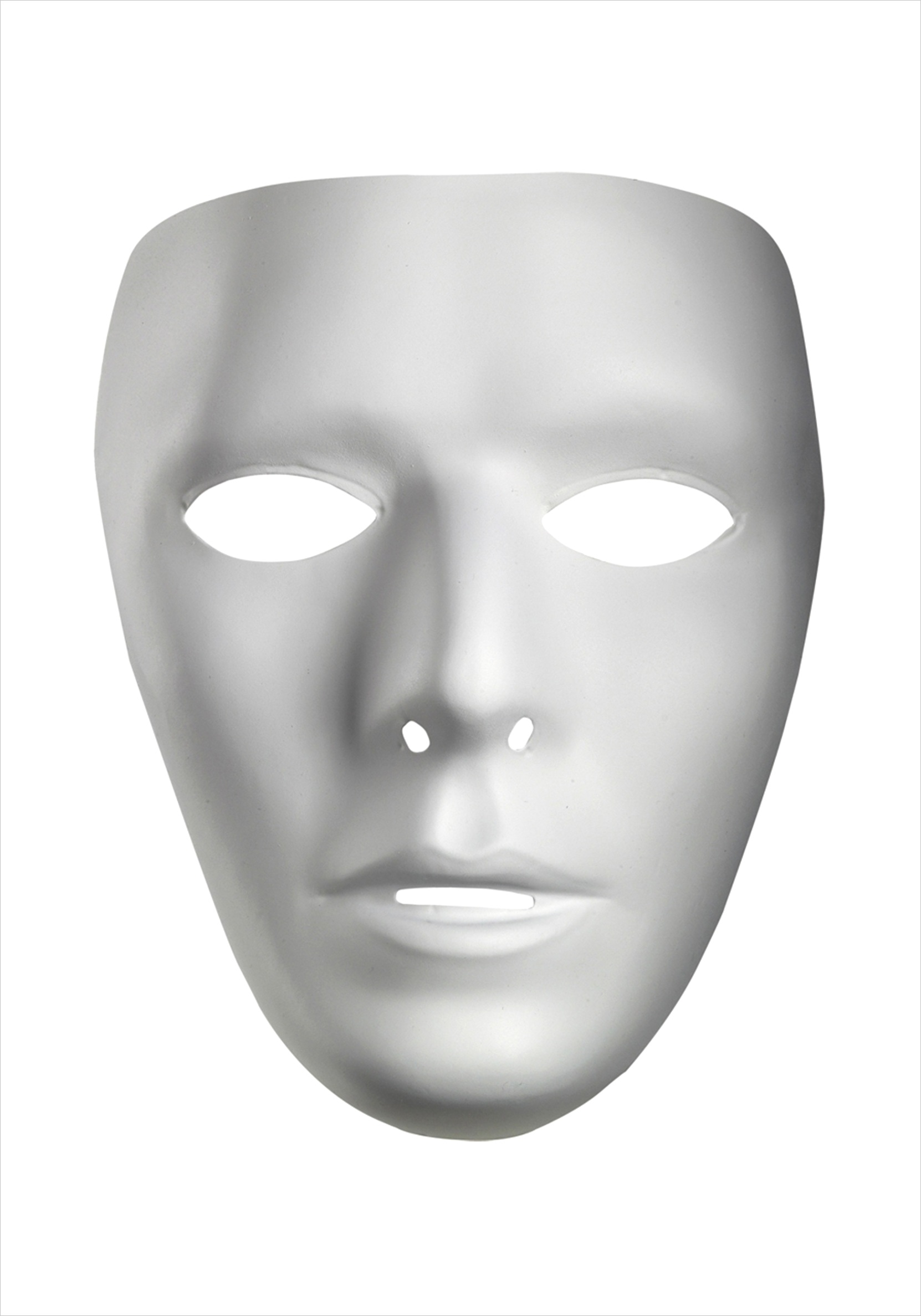 blank male maskml