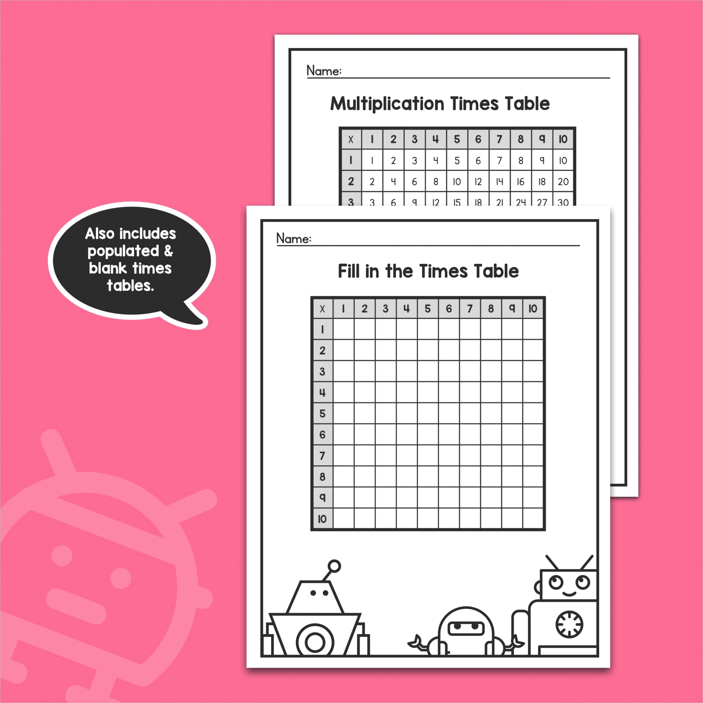 multiplication times tables worksheets 1st 2nd 3rd grade 1 10 multiplication math practice printable pdf