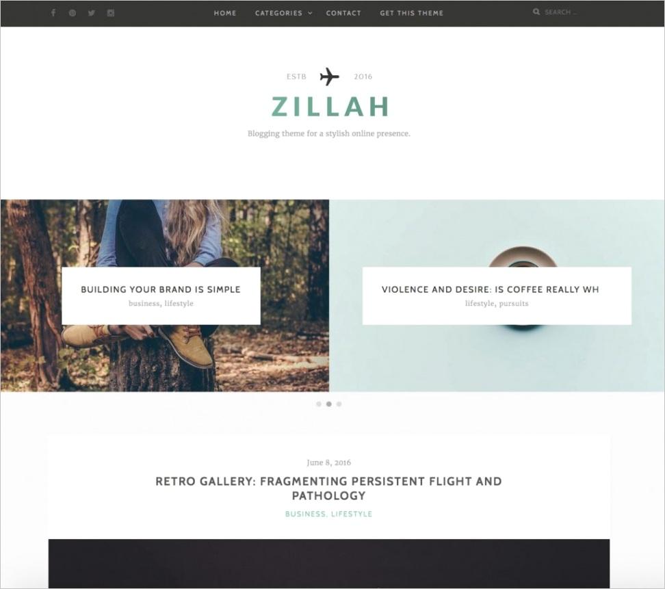 free blog themes