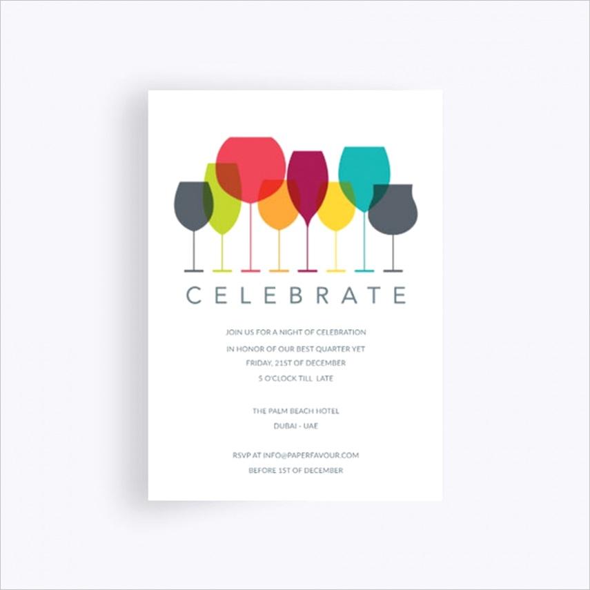 ritz business event invitation