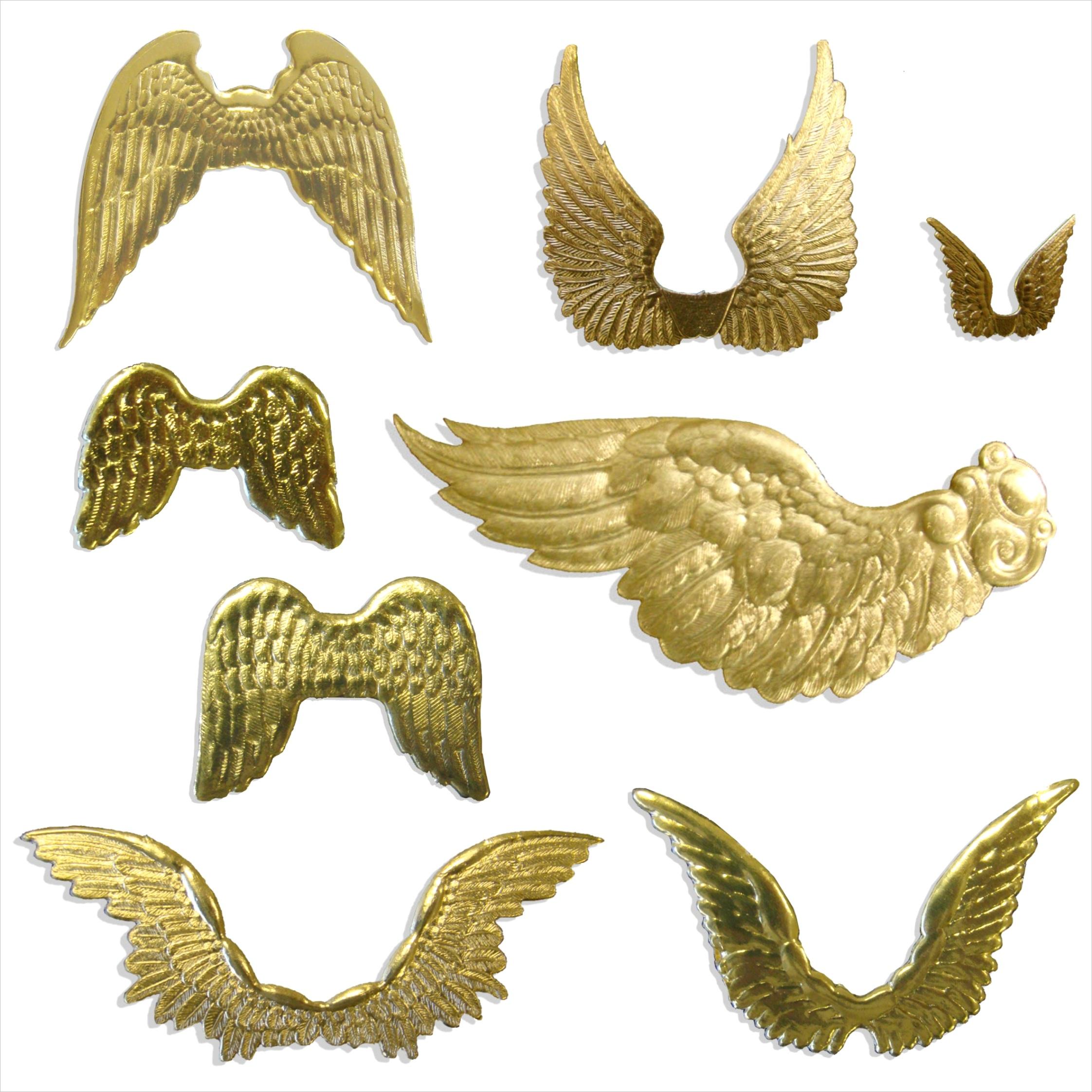 dresden cardboard angel wings 84 set