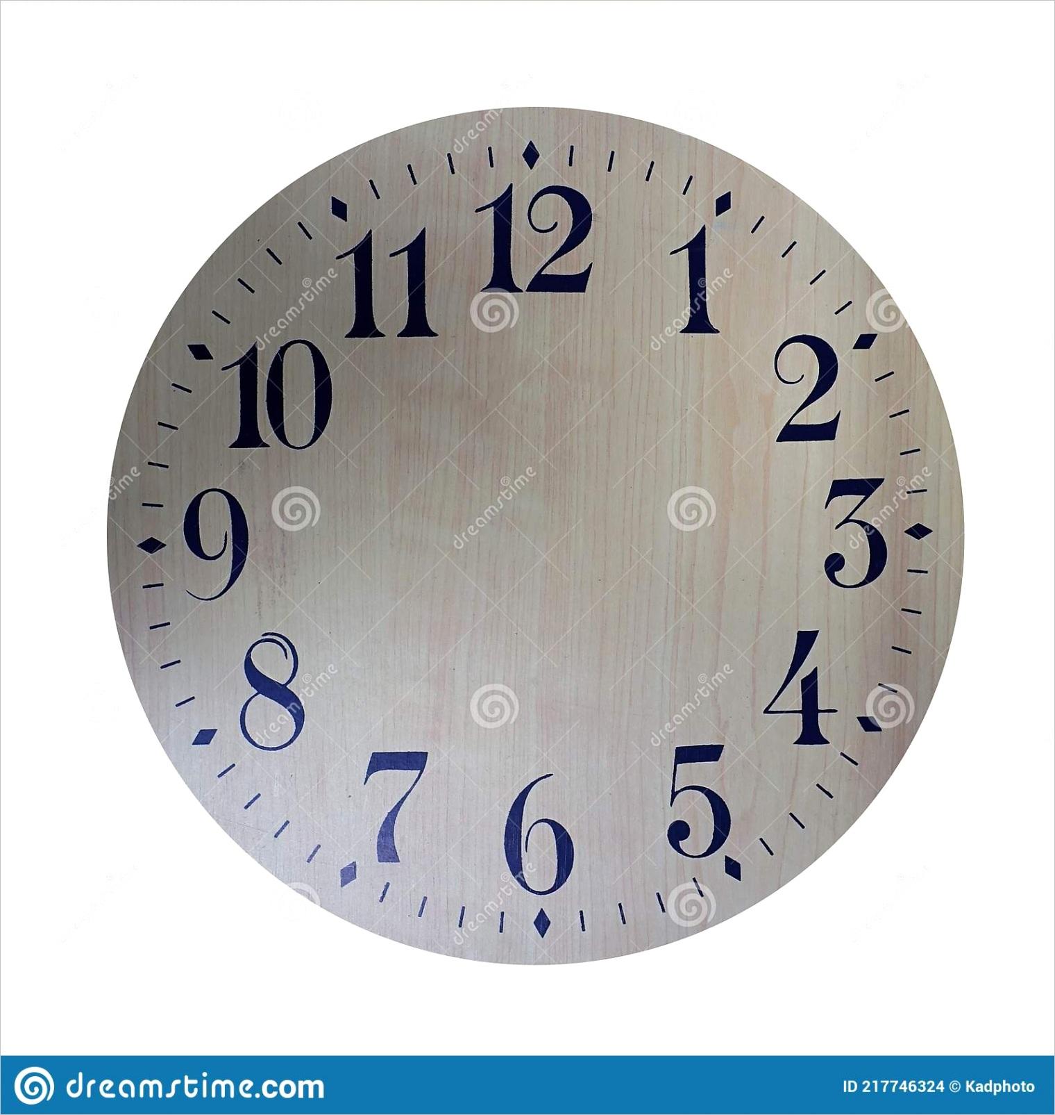 blank clock faceml