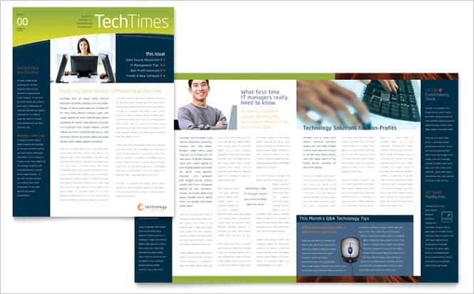 Free Sample Newsletter Template Designpx