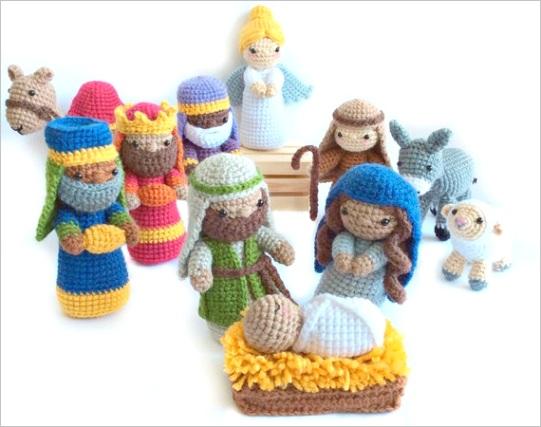 crochet nativity pattern amigurumi