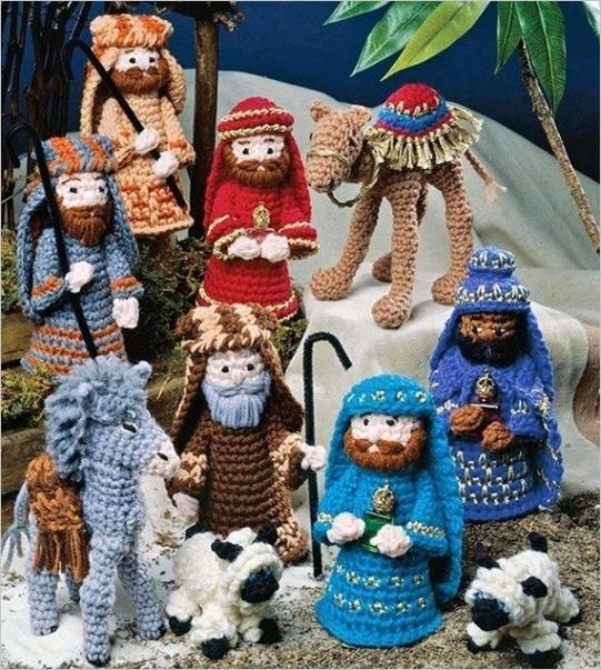 vintage crochet pattern christmas
