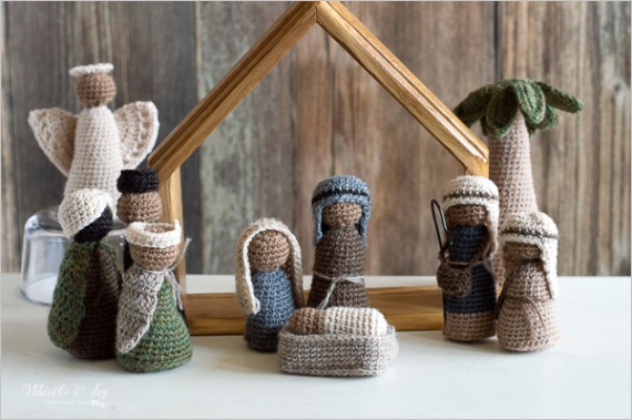 crochet nativity set cal 2017