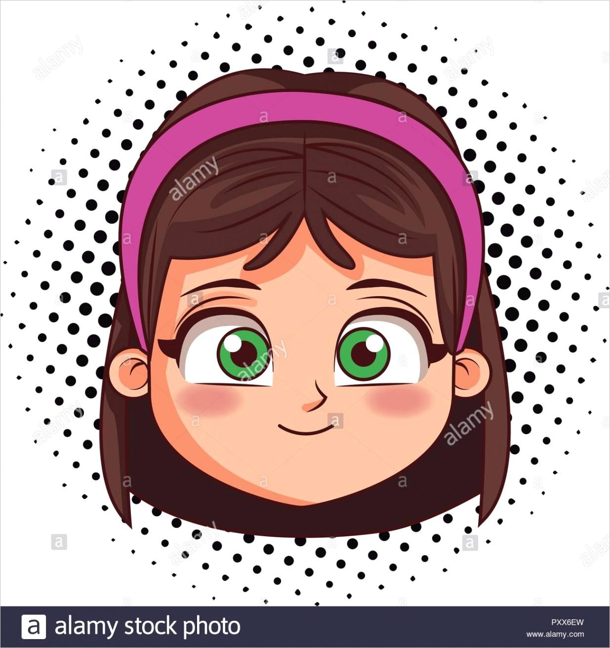 cute girl face image ml