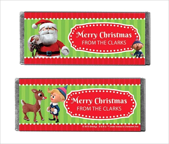 candy bar wrapper templates