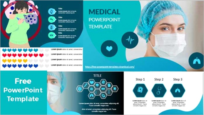 medical shapes powerpoint templates