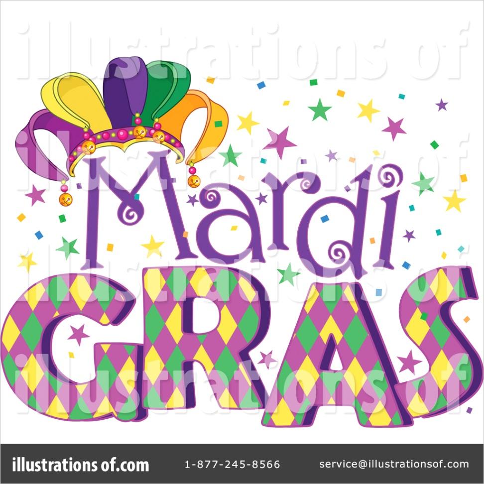 royalty free mardi gras clipart illustration