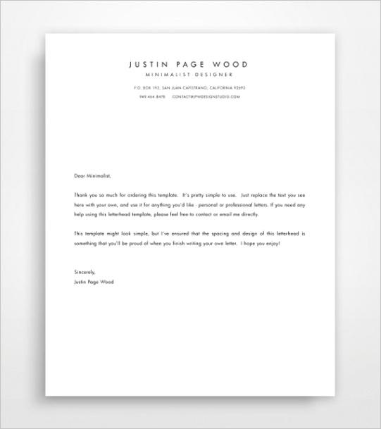 printable stationary business letterhead