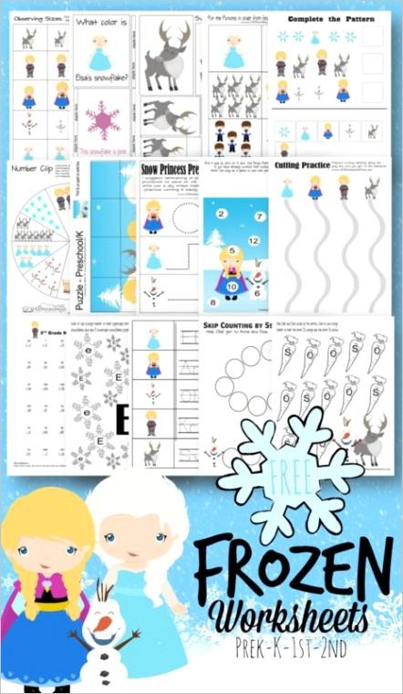 free disney frozen worksheets for kids 20