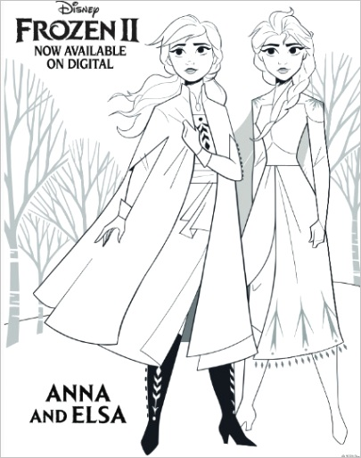printable frozen 2 activity and coloring pages
