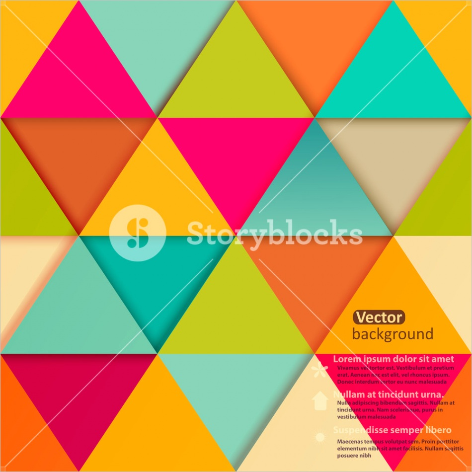 retro pattern of geometric shapes colorful mosaic banner geometric hipster retro background with place for text retro triangle background modern design cutout triangles h9ml2yzlmuzj6gpvd22