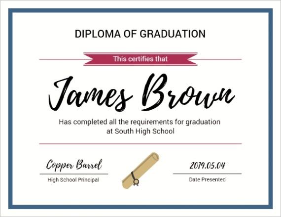t certificates diploma of graduation 094C6D