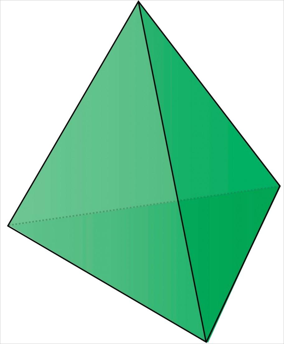 triangle based pyramid