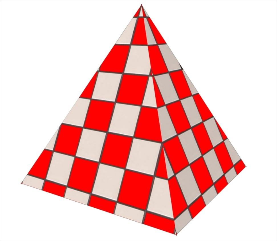 triangular pyramid properties volume faces edges