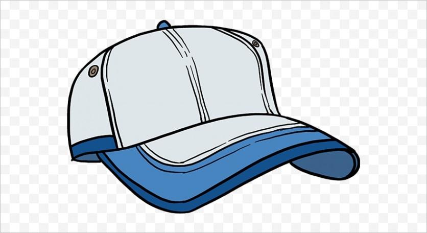 mJxRwm how to draw baseball cap clipart