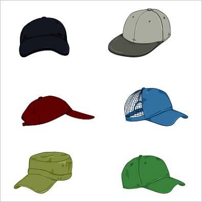 red baseball hat icon cartoon style ml