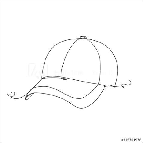 object template hat