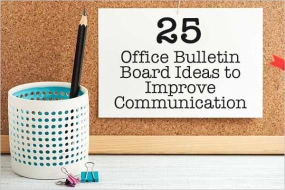 office bulletin board ideasm