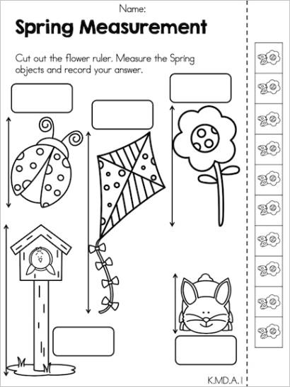 spring math measurement