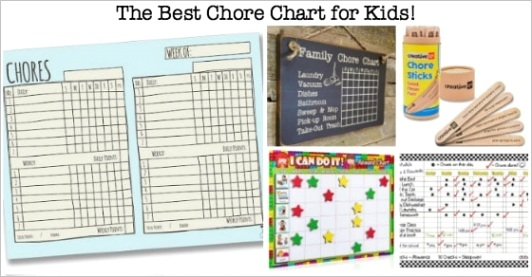 the best chore chart for kids