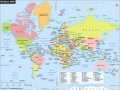 Map Of World Countries Labeled