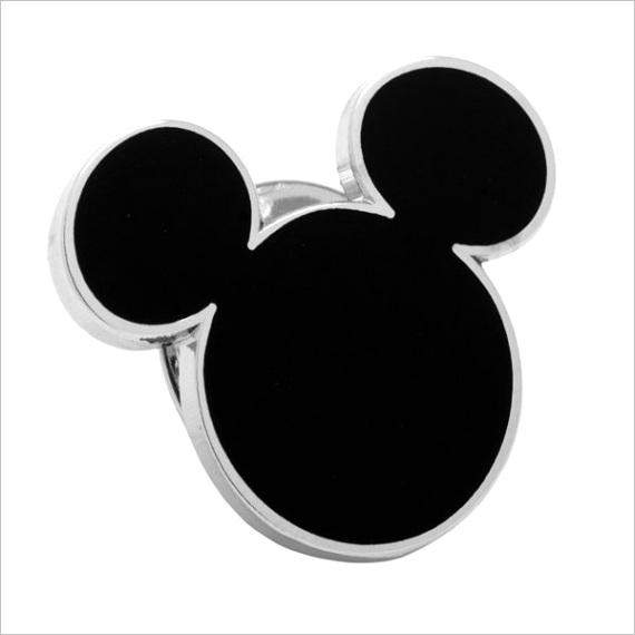 disneys mickey mouse head silhouette lapel pin jsp