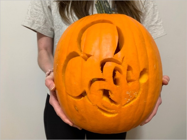 how to carve a mickey mouse jack o lantern