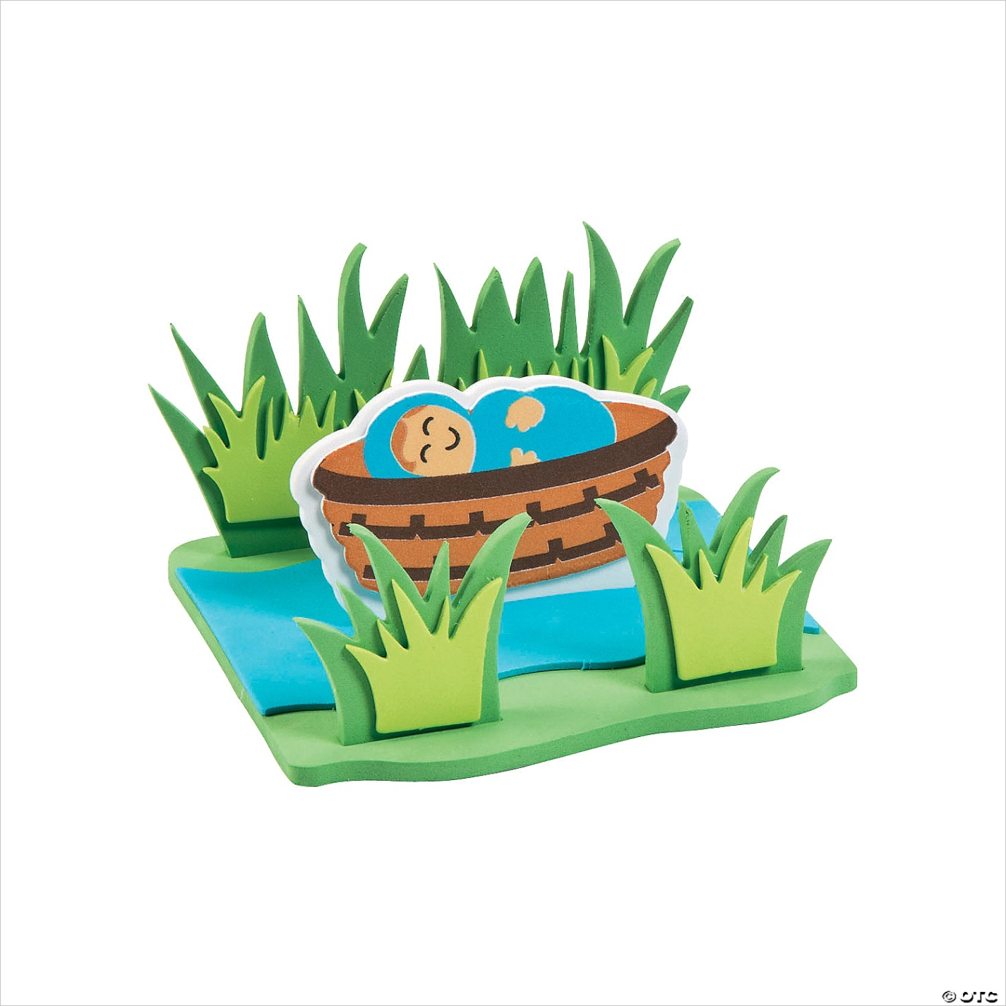 3d floating baby moses craft kit makes 12 a2 fltr