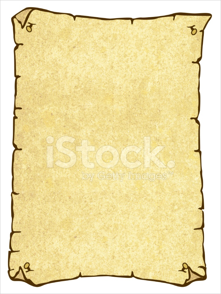 parchment paper wanted poster