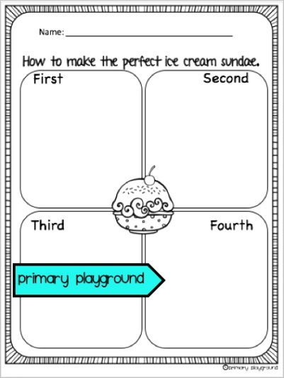 ice cream and popsicle cool treats activities no prep math and literacy pack