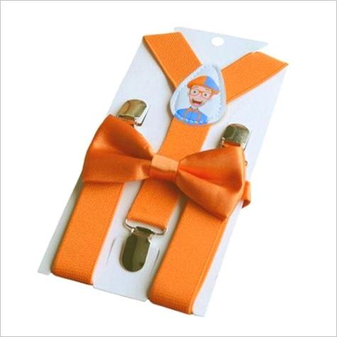 blippi suspenders bow tie bo