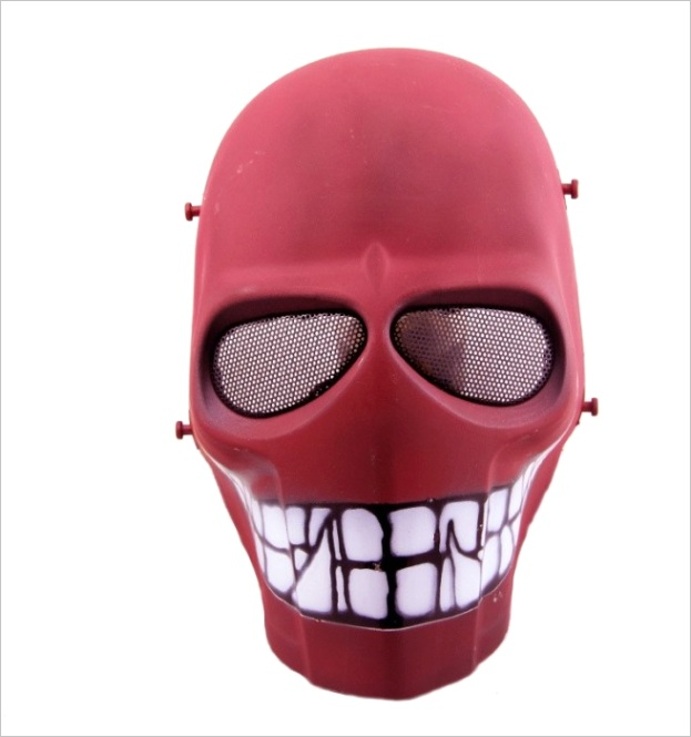 dc tactical gear army of two full face smiley mask cacique mask dsh p 1712ml