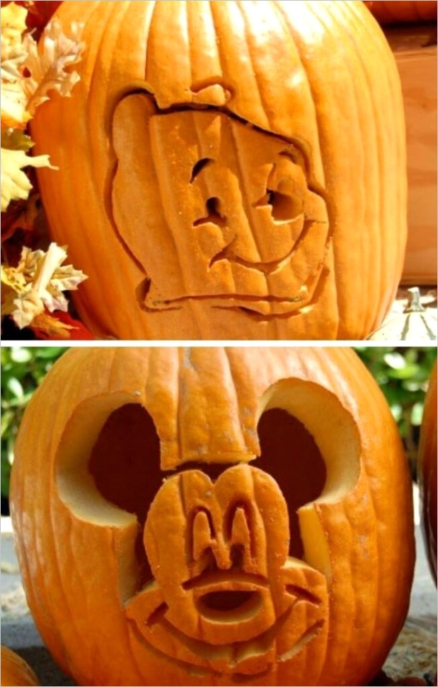 disney pumpkin carving templates
