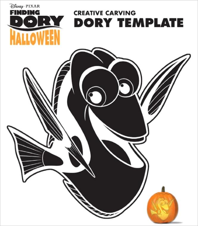 finding dory pumpkin carving disney artist joseph yokovetic