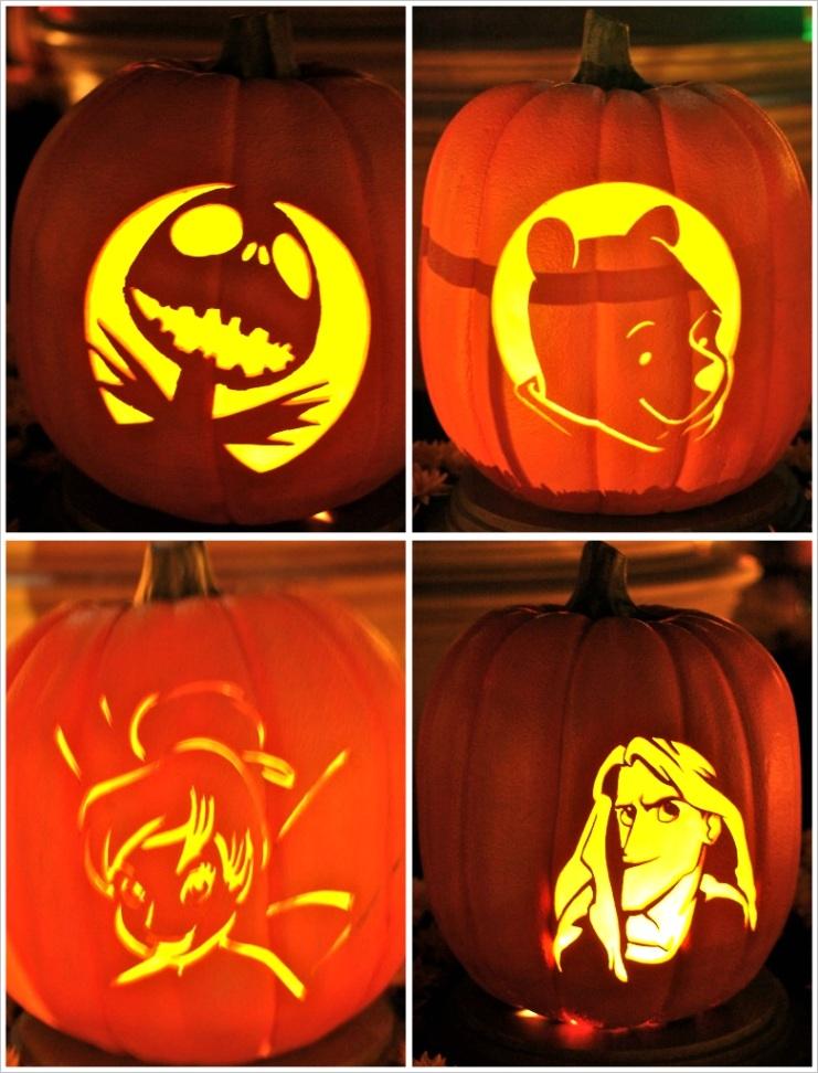 pumpkin carving disney styleml
