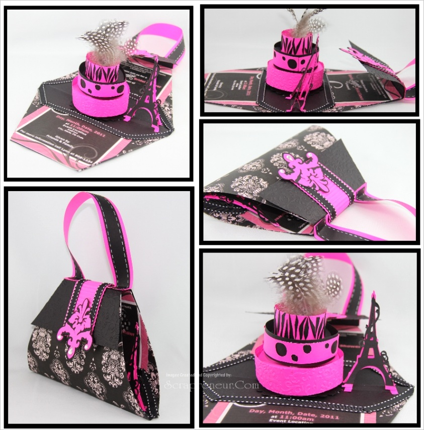 pop up purse 3 tier cake pdf tutorial