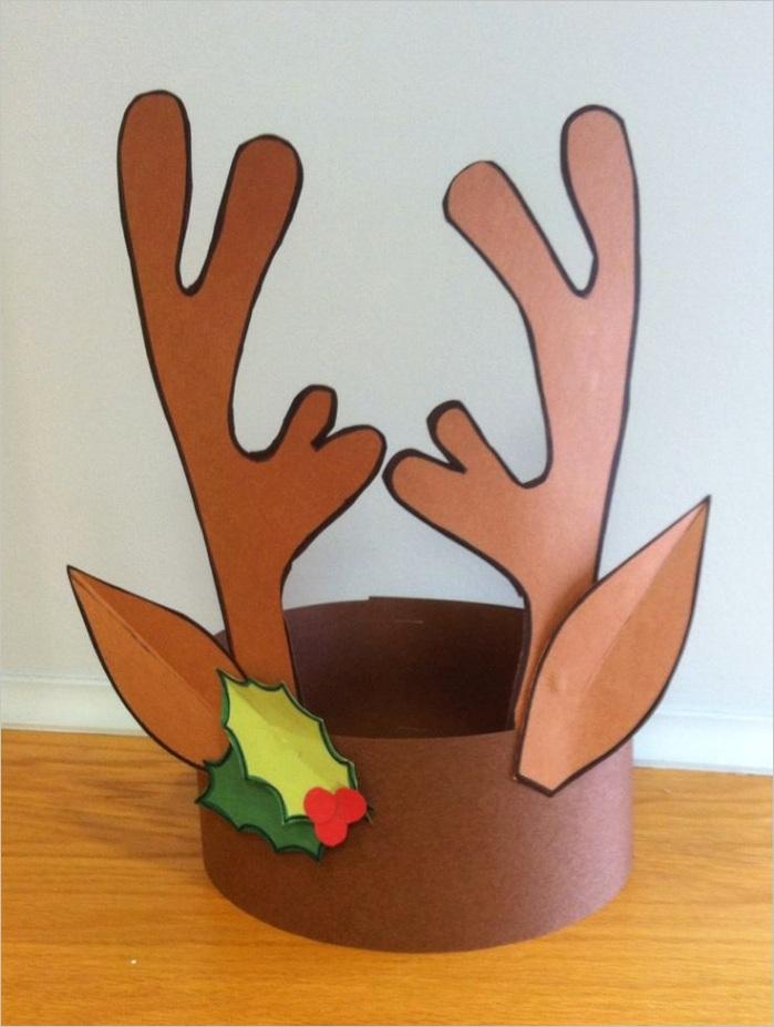 reindeer headband craft idea