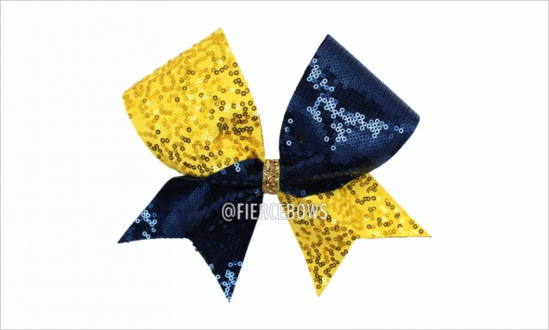 u2q8u2r5o0u2r5u2 gold and navy sequin cheer bow gold and