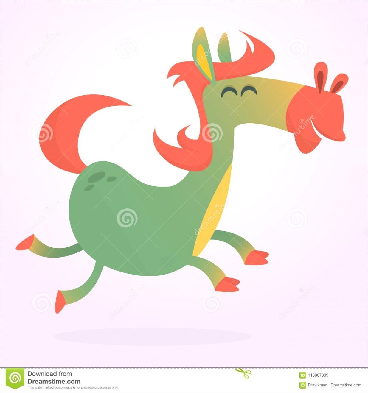 cartoon horse vectorml