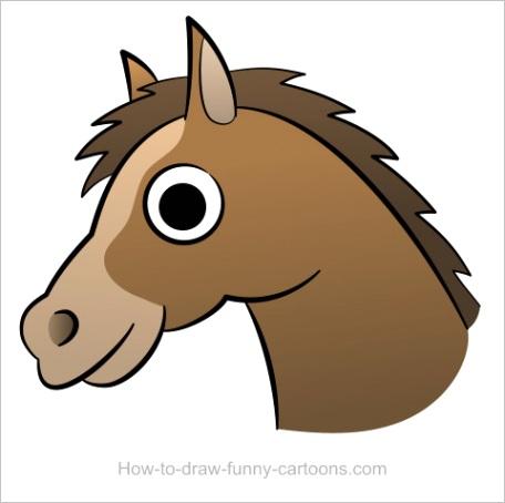 horse head drawingml