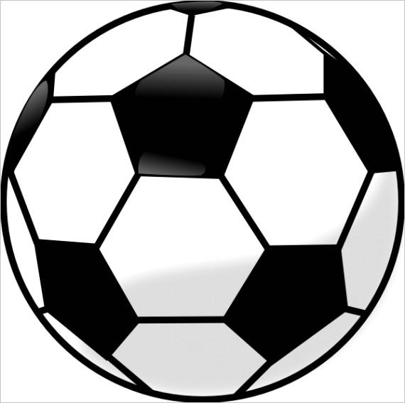 soccer ball clip art ml