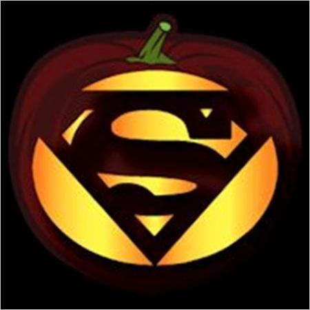 superman pumpkin