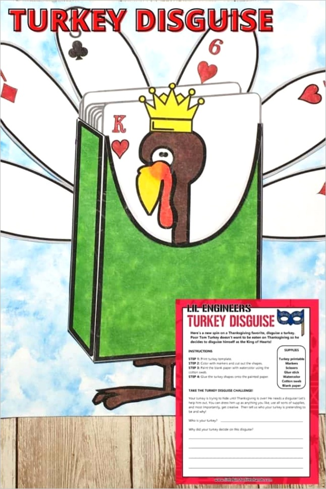 disguise a turkey